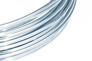Dekoračné drôt hliníkový - ľadovo modrý