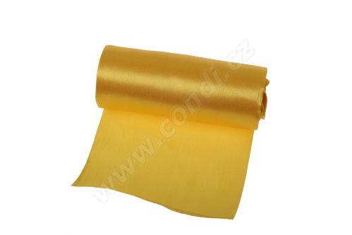 Saténová role 12cm x 9,1m 98 - žltá