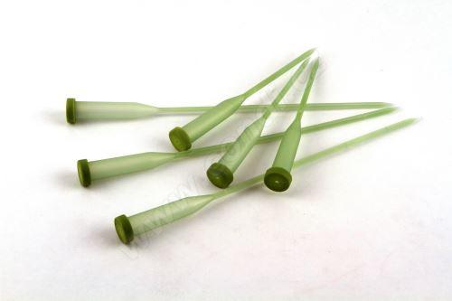 Ampulky na kvety 30cm (12x65mm) 100ks -zelené
