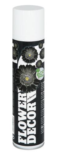 Farba v spreji na živé kvety 400ml FLOWER DECOR - čierna 19001