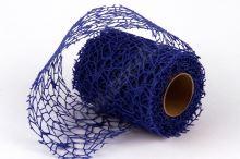 Dekorativní tkanina Big spider 10cm x 4,6m MODRÁ