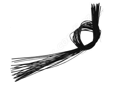 Pedig štípaný plochý 1m černý