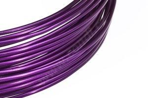 Dekoračné drôt hliníkový - fialový