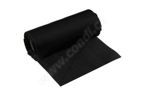 Úloha satén 12cm x 9,1m 18-BLACK