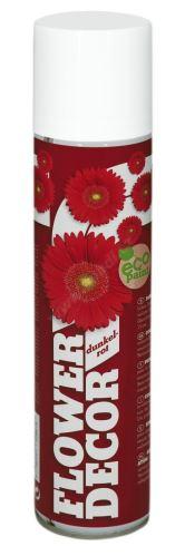 Farba v spreji na živé kvety 400ml FLOWER DECOR - tmavo červená 12961