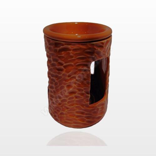 Aromalampa REVAL CERAMIC oranžová - pre vonné vosky Scented Cubes