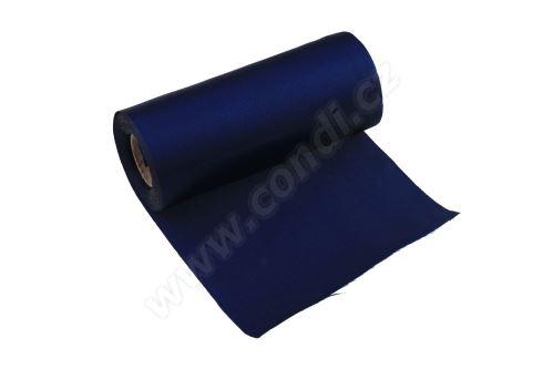 Úloha satén 12cm x 9,1m 44-BLUE