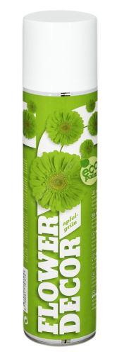 Farba v spreji na živé kvety 400ml FLOWER DECOR - svetlo zelená 15151