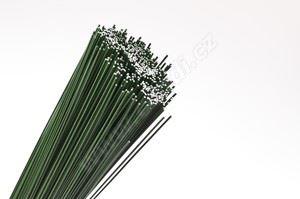 Drôt viazací na gerbery zelený - O 0,9mm