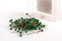 Dekoračné špendlík do klopy 38mm zelený
