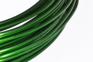 Dekoračné drôt hliníkový - zelený