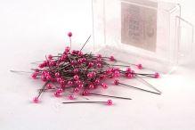 Dekoračné špendlík do klopy 38mm ružový
