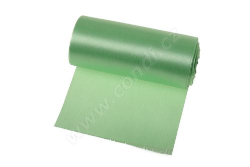 Saténová role 12cm x 9,1m 177 - svetlo zelená