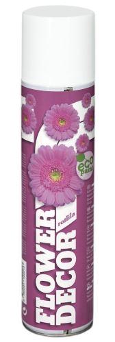 Farba v spreji na živé kvety 400ml FLOWER DECOR - ružovofialová 12221