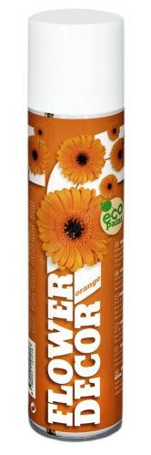 Farba v spreji na živé kvety 400ml FLOWER DECOR - oranžová 12101