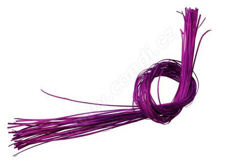 Pedig štípaný plochý 1m fialový