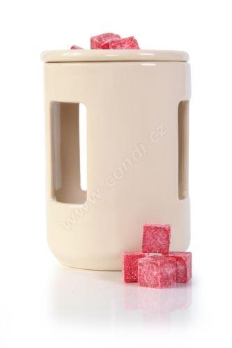 Aromalampa REVAL CERAMIC béžová - pre vonné vosky Scented Cubes