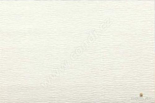 Krepový papír role 50cm x 2,5m - sv. krémový 603