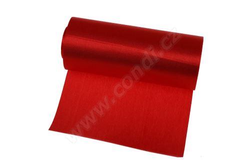 Saténová role 12cm x 9,1m 50 - červená