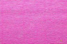 Krepový papír role 50cm x 2,5m - fuchsiový 570
