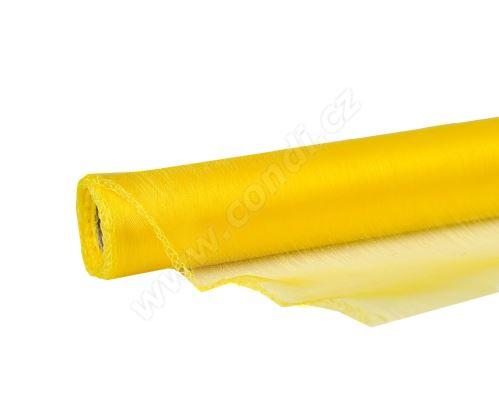 Organza uni 48,5cm x 10m ŽLUTÁ