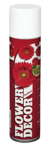 Farba v spreji na živé kvety 400ml FLOWER DECOR - svetlo červená 12001