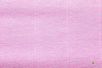 Krepový papír role 50cm x 2,5m - růžová 554