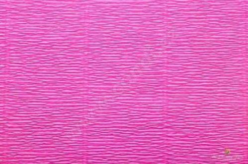 Krepový papír role 50cm x 2,5m - růžový 551
