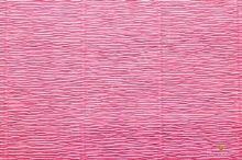 Krepový papír role 50cm x 2,5m - růžová 571
