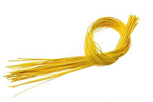 Pedig štípaný plochý 1m žlutý
