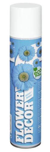 Farba v spreji na živé kvety 400ml FLOWER DECOR - azúrová 15061