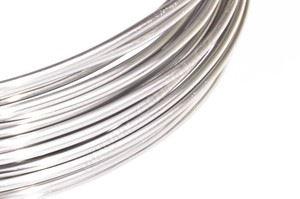 Dekoračné drôt hliníkový - strieborný